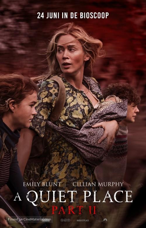 A Quiet Place: Part II - Dutch Movie Poster