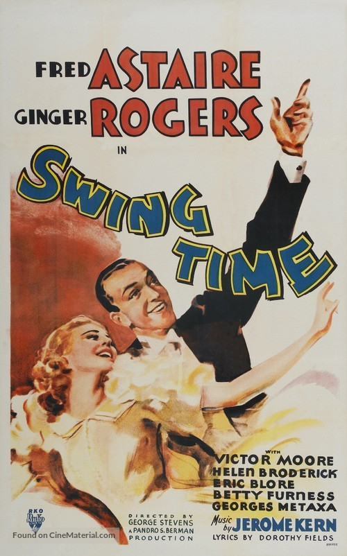 Swing Time - Movie Poster