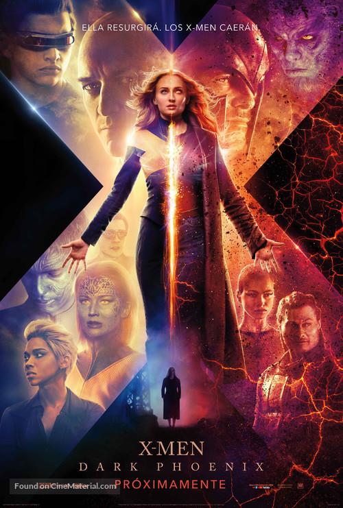 Dark Phoenix - Mexican Movie Poster
