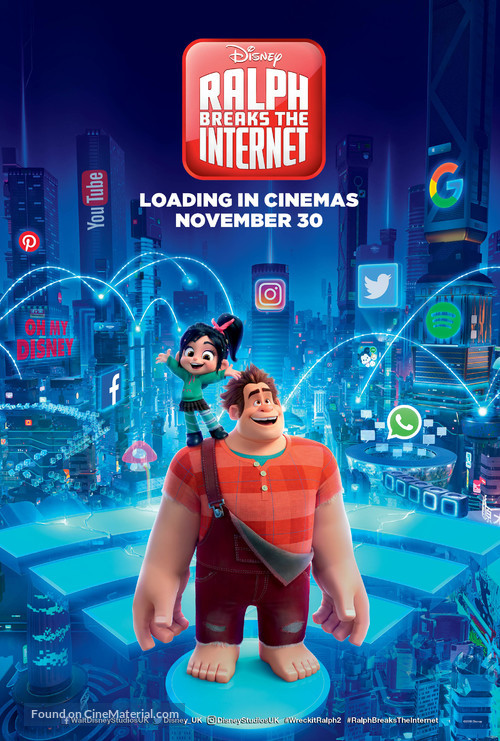 Ralph Breaks the Internet - British Movie Poster