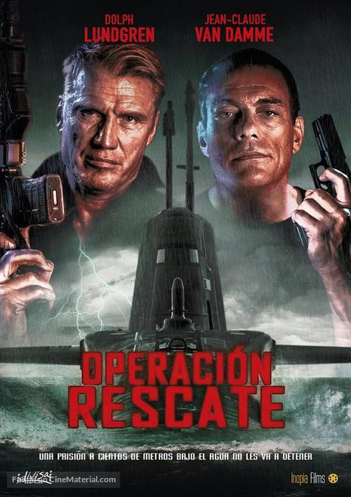 Black Water - Spanish Movie Poster