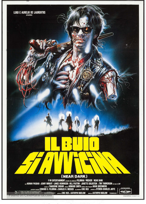 Near Dark - Italian Movie Poster