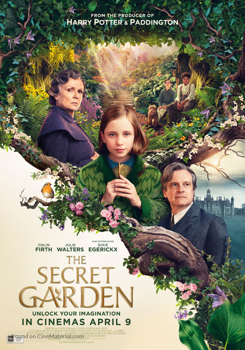 The Secret Garden - New Zealand Movie Poster