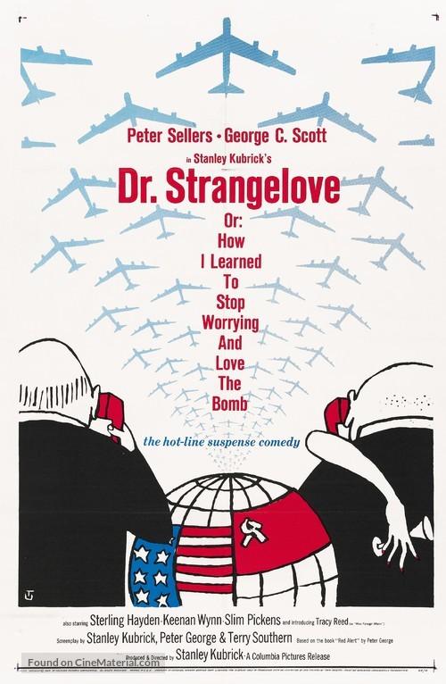 Dr. Strangelove - Movie Poster