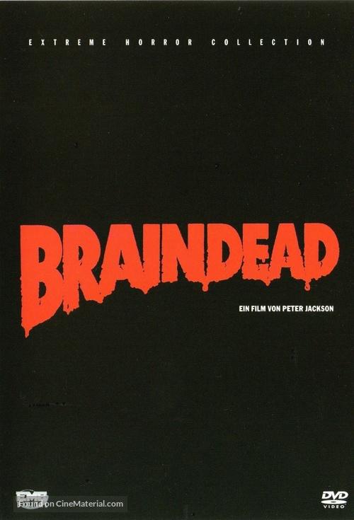 Braindead - German DVD movie cover