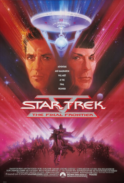 Star Trek: The Final Frontier - Movie Poster