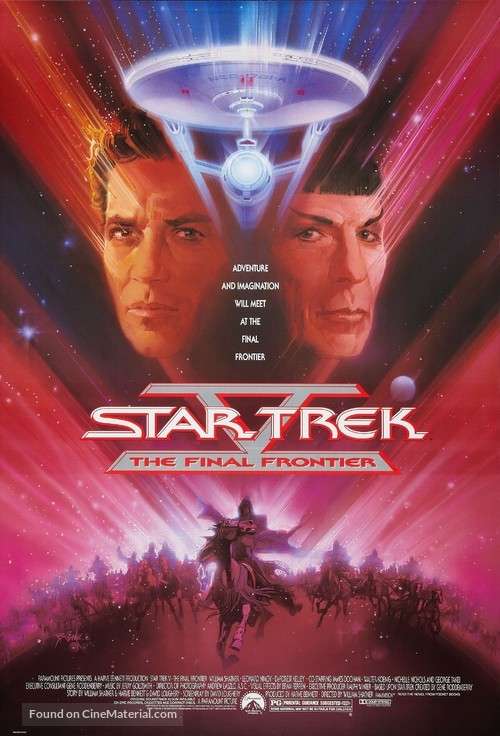 Star Trek: The Final Frontier - Movie Poster