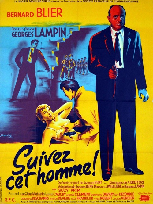 Suivez cet homme - French Movie Poster