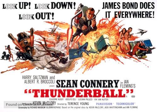 Thunderball - British Movie Poster