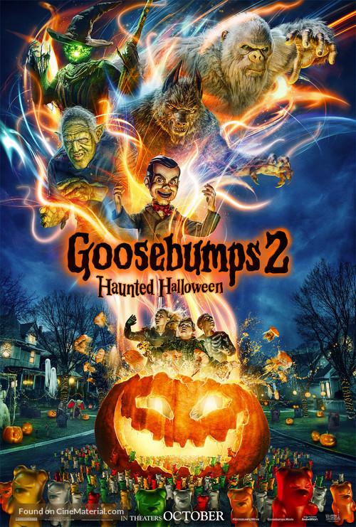 Goosebumps 2: Haunted Halloween - Movie Poster