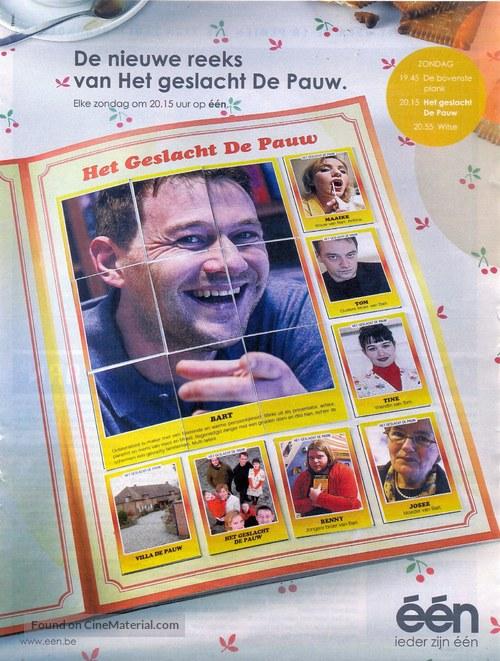 """""""Het geslacht De Pauw"""" - Belgian Movie Poster"""