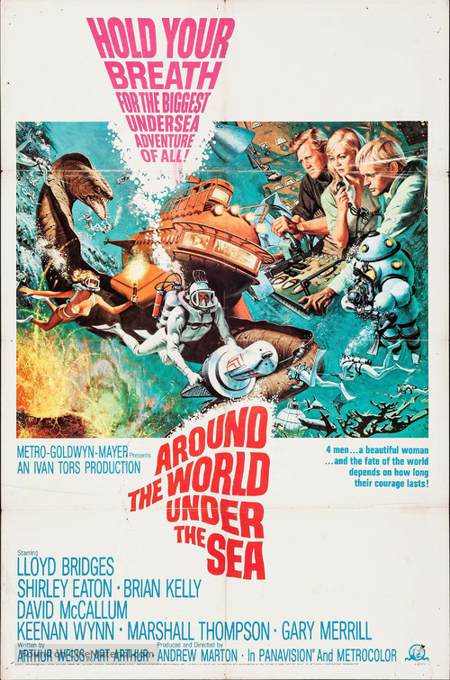 Around the World Under the Sea - Movie Poster