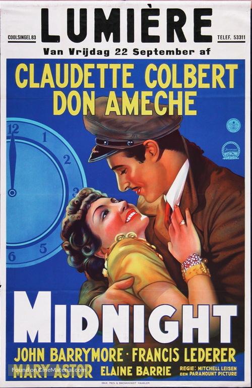 Midnight - Dutch Movie Poster