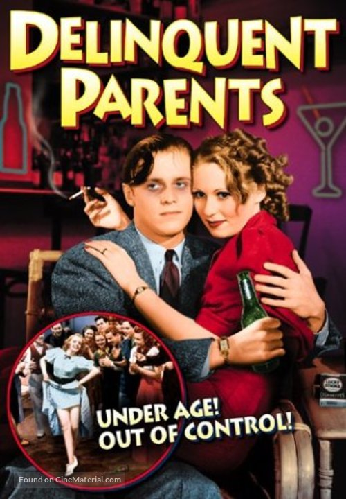 Delinquent Parents - DVD movie cover
