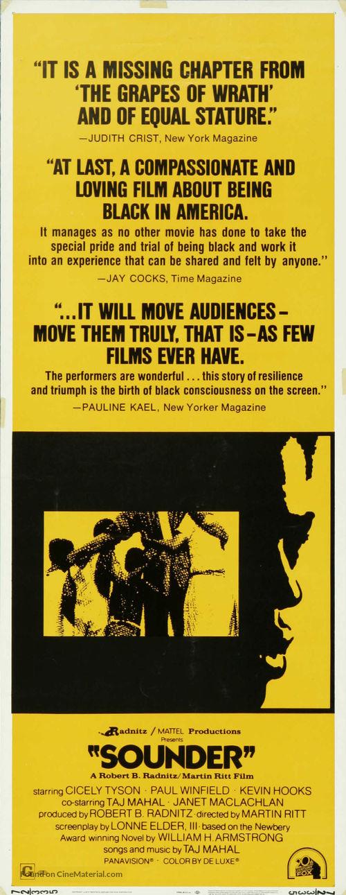 Sounder - Movie Poster