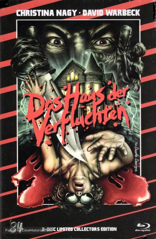 7, Hyden Park: la casa maledetta - German Blu-Ray movie cover