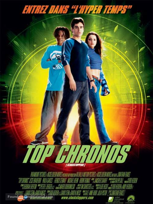 Clockstoppers - French Movie Poster