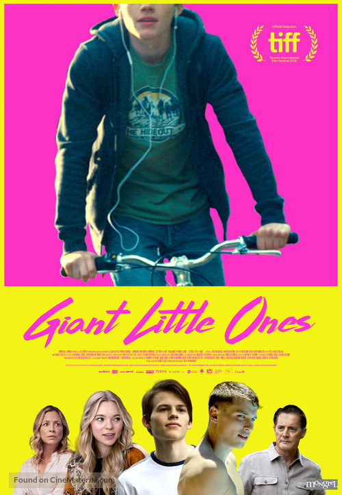 Giant Little Ones - Canadian Movie Poster