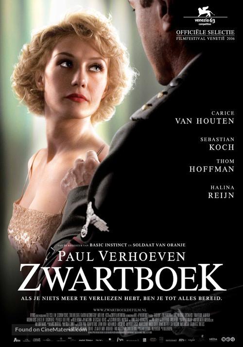 Zwartboek - Dutch Movie Poster
