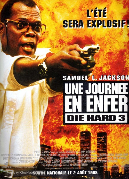 Die Hard: With a Vengeance - French Movie Poster