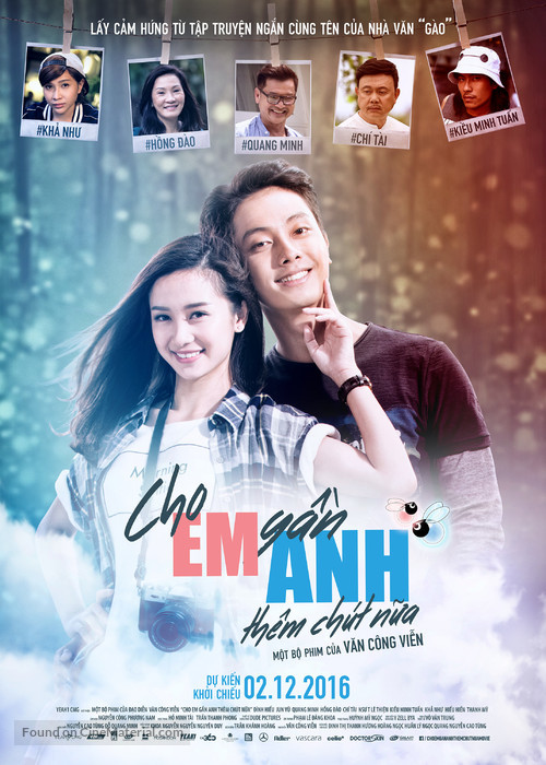 Cho Em Gan Anh Them Chut Nua - Vietnamese Movie Poster
