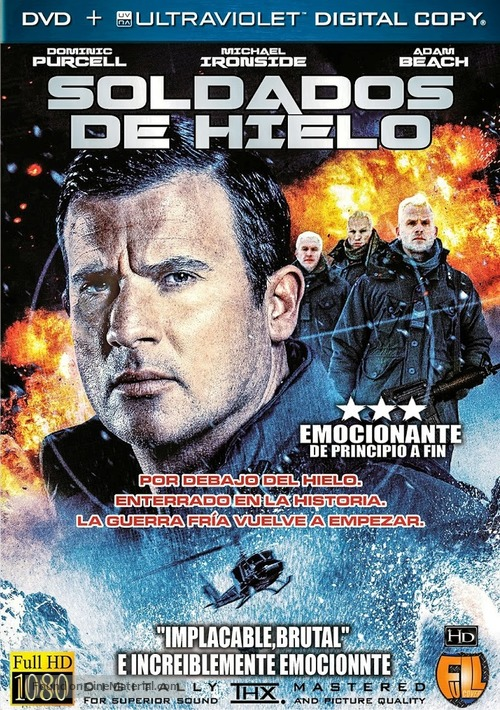 Ice Soldiers - Spanish Movie Poster