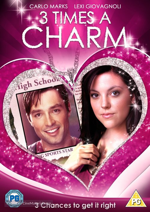 3 Times a Charm - British DVD movie cover