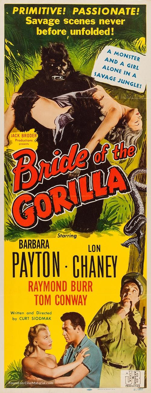 Bride of the Gorilla - Movie Poster