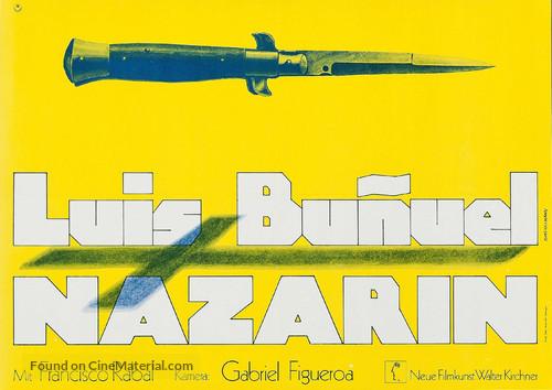 Nazarín - German Movie Poster