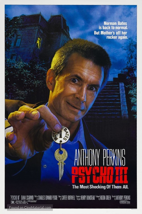 Psycho III - Movie Poster