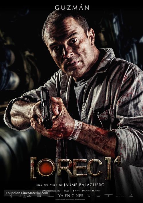 Rec 4 Apocalipsis Spanish Movie Poster