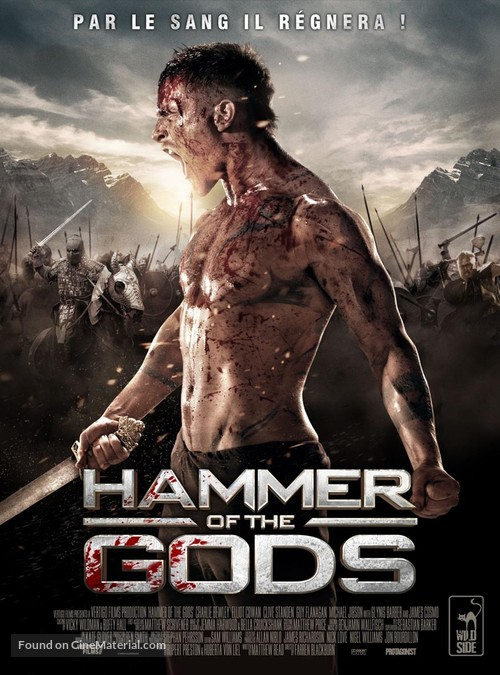 Hammer of the Gods - French DVD movie cover