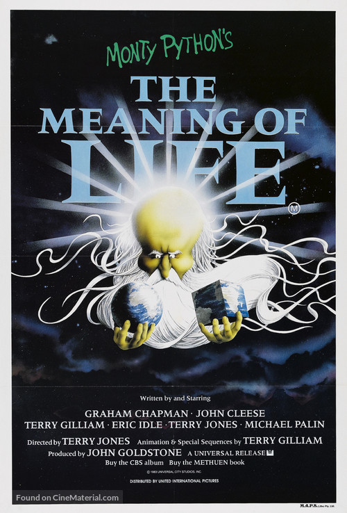The Meaning Of Life - Australian Movie Poster