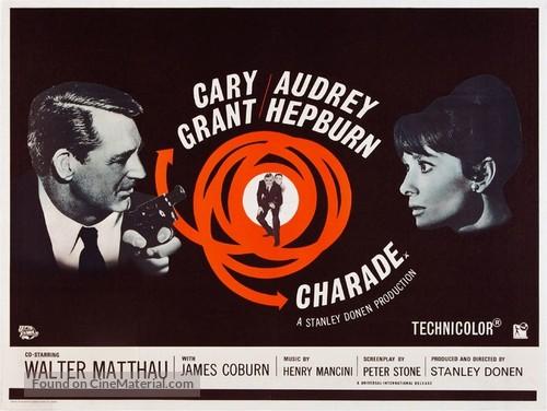 Charade - British Movie Poster