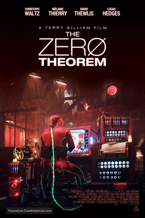 The Zero Theorem - British Movie Poster