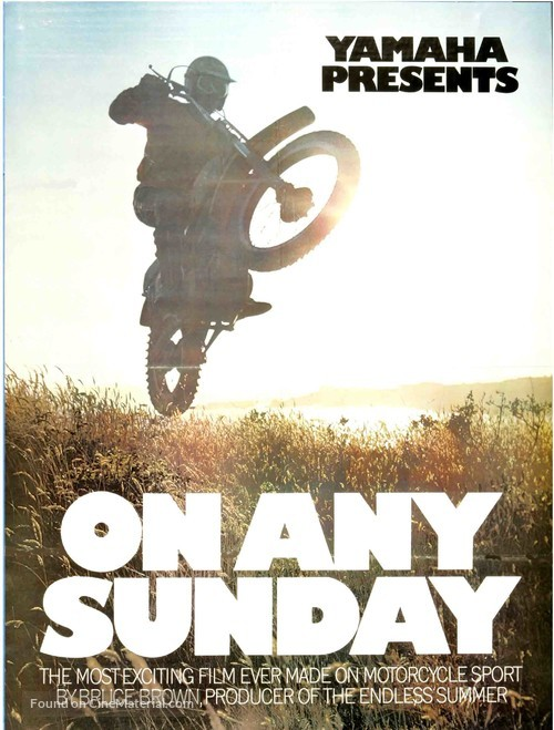 On Any Sunday - Movie Poster