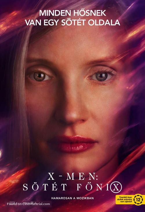 Dark Phoenix - Hungarian Movie Poster