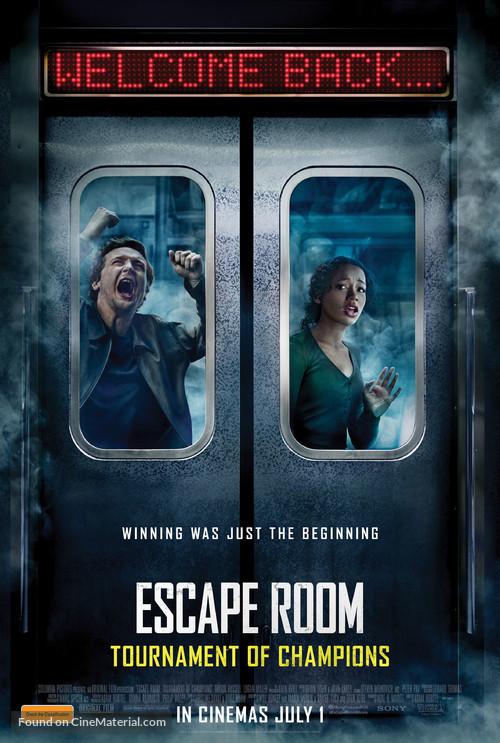 Escape Room: Tournament of Champions - Australian Movie Poster