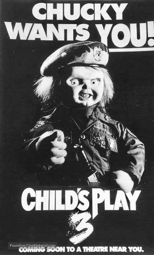 Child's Play 3 - poster