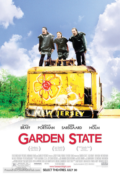 Garden State - Advance poster