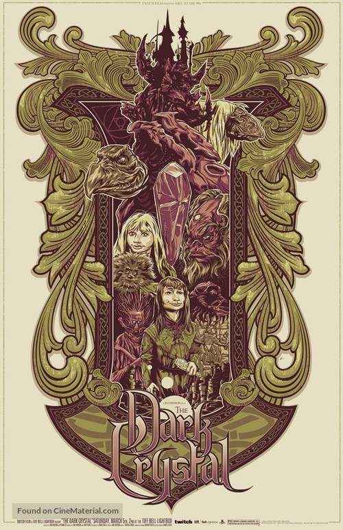 The Dark Crystal - Canadian Homage movie poster