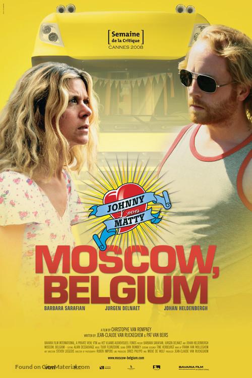 Aanrijding in Moscou - Belgian Movie Poster