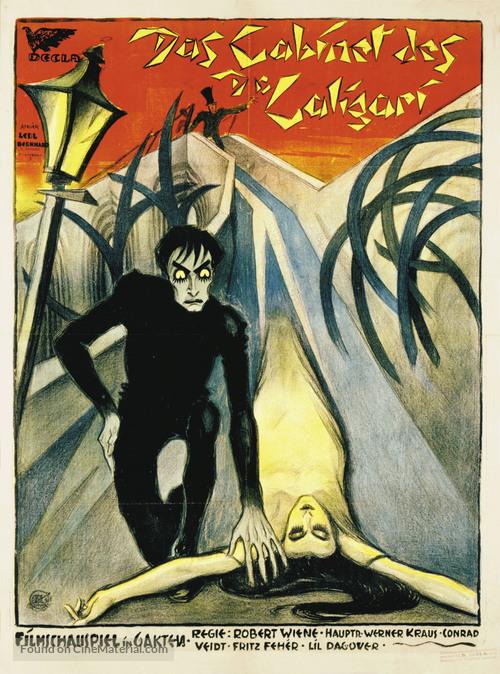 Das Cabinet des Dr. Caligari. - German Movie Poster