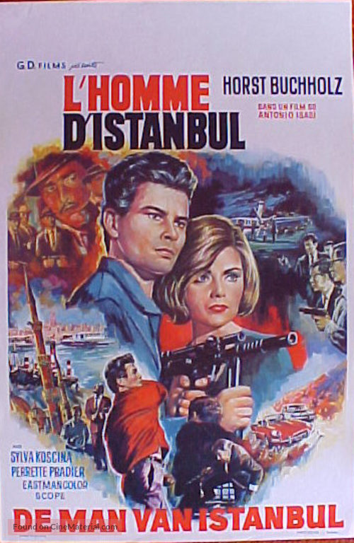 Estambul 65 - Belgian Movie Poster