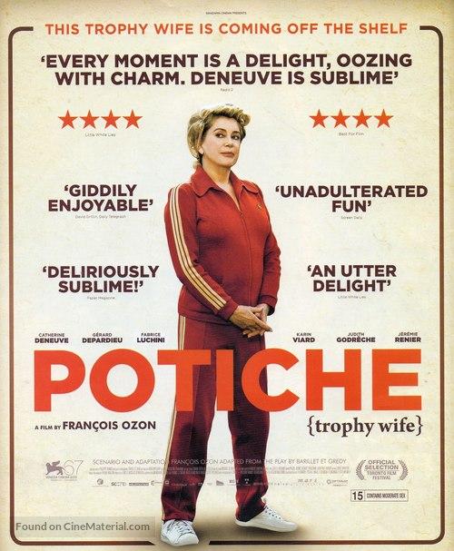 Potiche - British Movie Poster