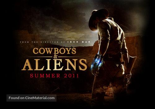 Cowboys & Aliens - Movie Poster