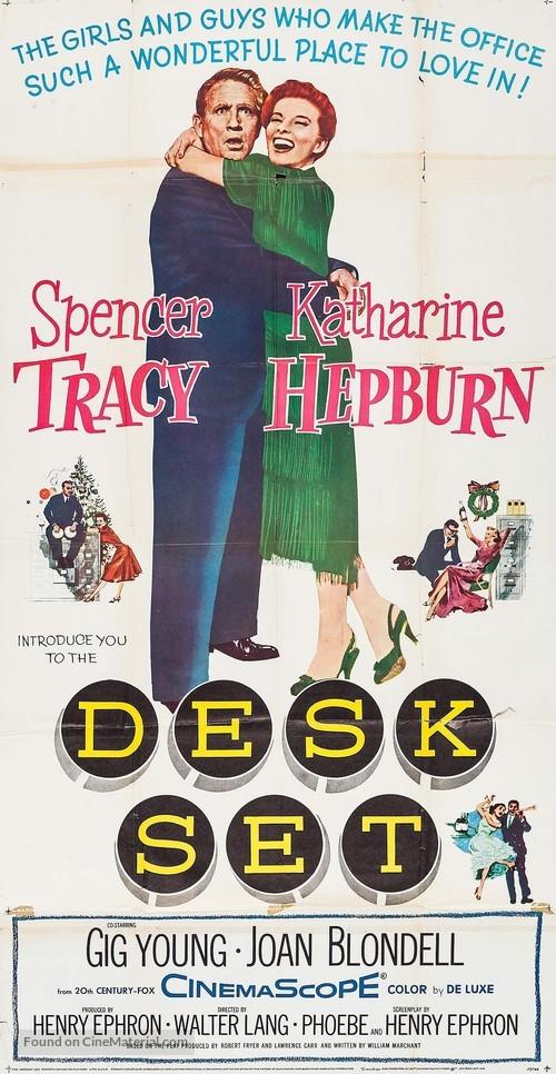 Desk Set - Movie Poster