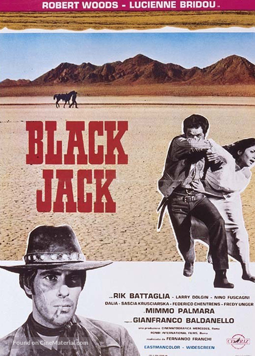 Black Jack - Italian Movie Poster