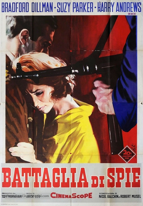 A Circle of Deception - Italian Movie Poster