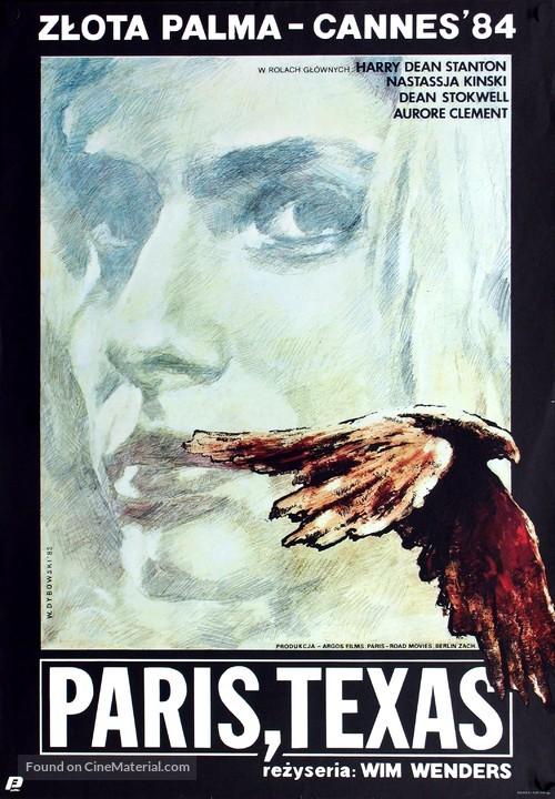 Paris, Texas - Polish Movie Poster